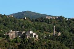 Corsica village Royalty Free Stock Photo