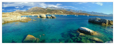 Corsica water Stock Photo
