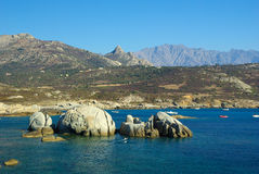 Corsica water Royalty Free Stock Image