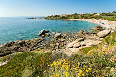 Corsica water (France) royalty free stock photo