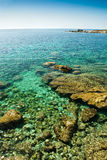 Corsica water (France) Stock Image