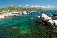 Corsica water (France) Stock Images