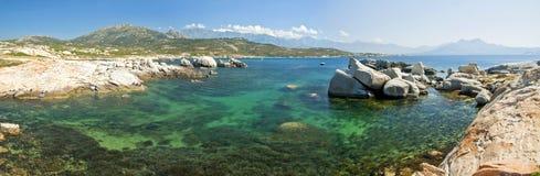 Corsica water (France) stock photos
