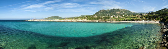 Corsica water (France) Royalty Free Stock Images