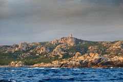 Corsica wild shore Royalty Free Stock Images