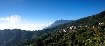 corsica wioska fotografia royalty free