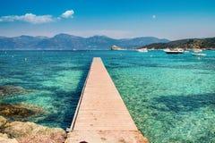 Corsica - wyspa piękno, Francja zdjęcia royalty free