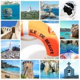 Corsica - wyspa piękno, Francja fotografia stock