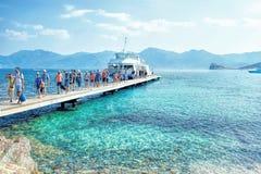 Corsica - wyspa piękno, Francja Obrazy Stock