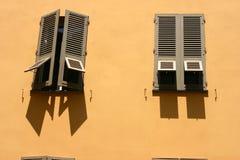 Corsicaanse huizen en gebouwen Royalty-vrije Stock Fotografie