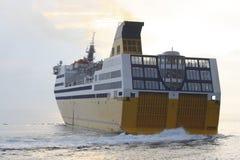 Corsicaanse veerboot Royalty-vrije Stock Foto
