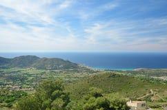 Corsican coast Balagne Stock Photo