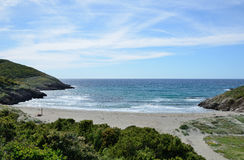 Corsican coast in the Cap Corse Stock Image