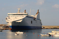 Corsican ferry Royalty Free Stock Images