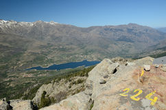 Corsican high mountains Royalty Free Stock Images