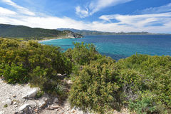 Corsican shore Royalty Free Stock Photography