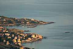 Corsican village royalty free stock image