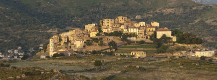 Corsican village Royalty Free Stock Photography