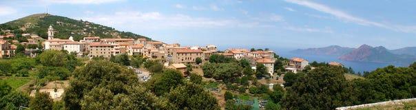 Corsican village Royalty Free Stock Photo