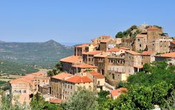 Corsican village Stock Image