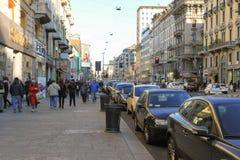Corso布宜诺斯艾利斯在米兰 免版税库存图片