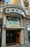 Corso cinema, Bucharest, Romania Stock Images
