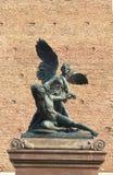 Corso del Popolo, oorlogs herdenkingsstandbeeld in Chioggia stock afbeeldingen