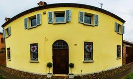 Corso Ercole I di Este in Ferrara, Italy Royalty Free Stock Photos