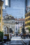 Corso Garibaldi in Milan stock photography