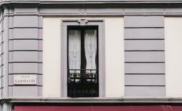 Corso Garibaldi, Milano, Italia fotografia stock libera da diritti