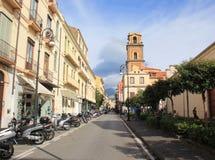 Corso Italia arkivfoton