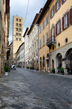 Corso Italia Arezzo Tuscany Stock Photography