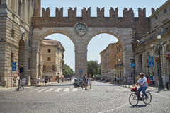 Corso Porta Nuova Stock Photo