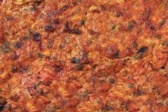 Corso tradizionale della carne Immagini Stock Libere da Diritti