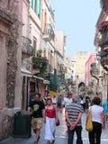 Corso Umberto de Taormina photographie stock
