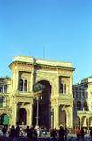 Corso Vittorio Emanuele II, Milan, Italy royalty free stock photos