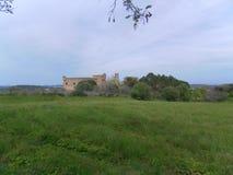 Corso y castillo del paisaje Foto de archivo