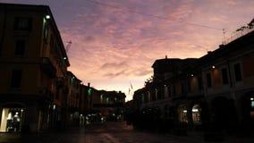Corso Zanardelli Brescia, Italien royaltyfria bilder