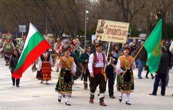 Cortège de carnaval de Varna, Bulgarie Photos libres de droits