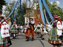 Cortège de Corpus Christi en Pologne Photo libre de droits
