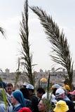 Cortège de dimanche de paume à Jérusalem Image stock