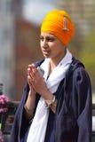 Cortège de Sikh de Nagar Kirtan photographie stock libre de droits