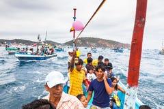 Cortège marin Images libres de droits
