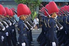 Cortège religieux en Thaïlande Image libre de droits