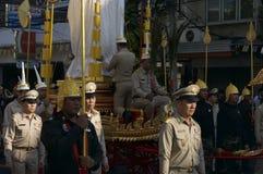 Cortège religieux en Thaïlande Photographie stock libre de droits