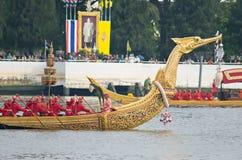 Cortège royal de chaland, Bangkok 2012 Photographie stock libre de droits