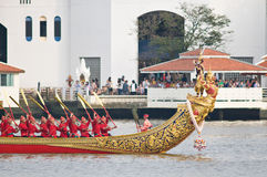 Cortège royal de chaland, Bangkok 2012 Images stock