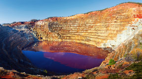 Corta Atalaya opencast mine, Huelva, Andalusia, Spain Stock Photos