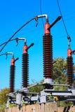 Corta-circuito de alto voltaje Fotografía de archivo