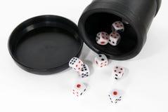 Corta en cuadritos de casino Foto de archivo libre de regalías
